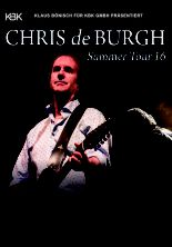 Chris de Burgh featuring Nigel Hopkins - Summer 2016