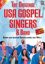 The Original USA Gospel Singers & Band - Tour 2019/20